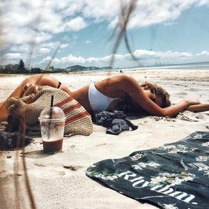 lululemon athletica Swim - Lululemon Reversible Bikini set Salty Swim